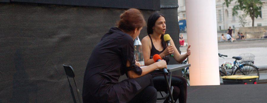 Anja Salomonowitz bei KUS Slider