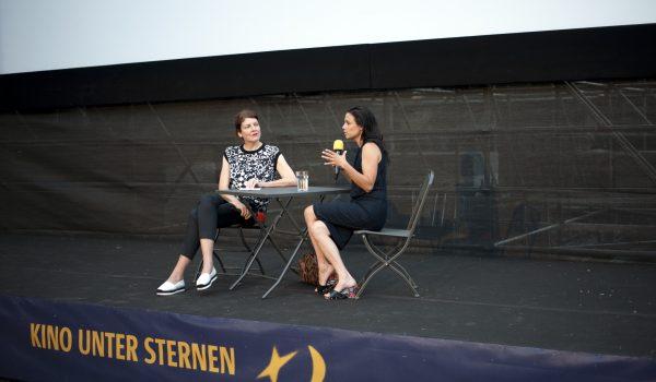Anja Salomonowitz bei Kino unter Sternen