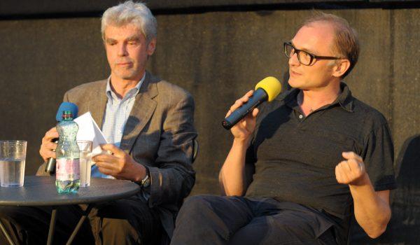 Hans Langsteiner mit Markus Schleinzer