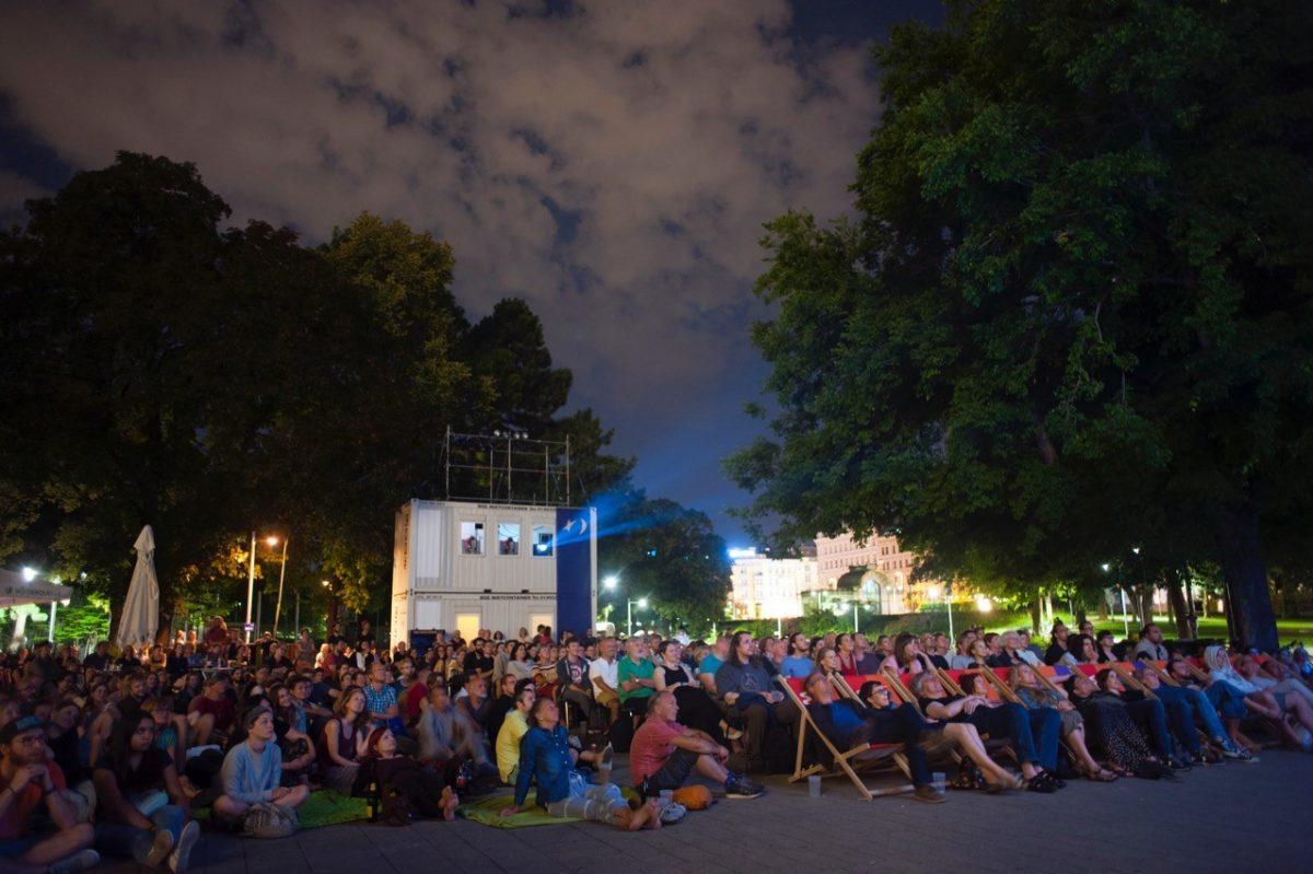 Kino unter-Sternen Publikum