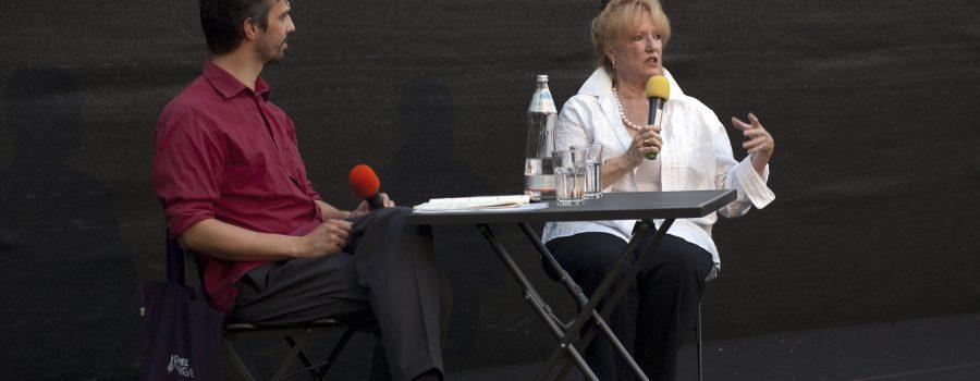 Monika Henreid und Stefan Huber