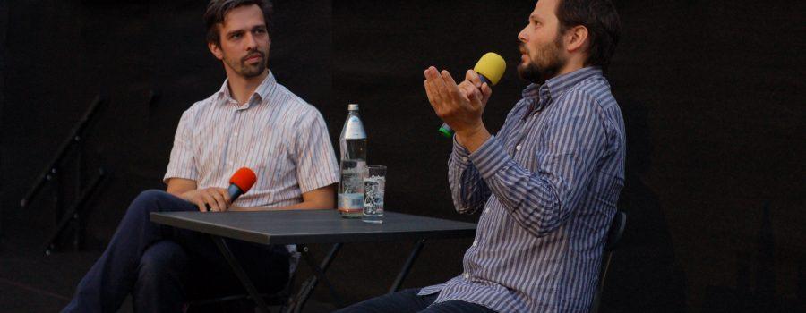 Sebastian Brameshuber und Stefan Huber